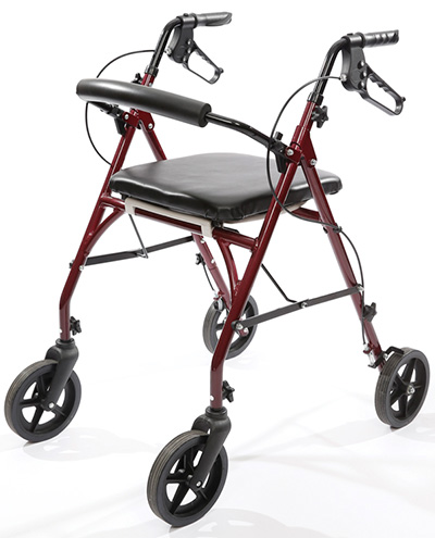 Prototype of Free2Go Rollator; images courtesy of Lesli Jenkins Wang.
