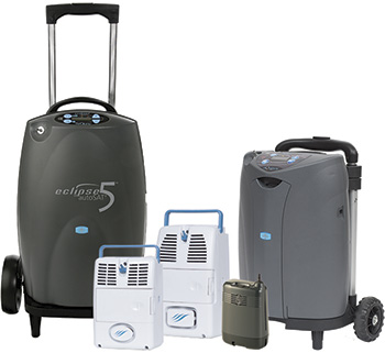 CAIRE portable oxygen concentrators