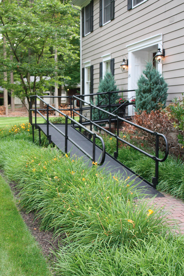 National Ramp's powder-coated finish provides extra durability.