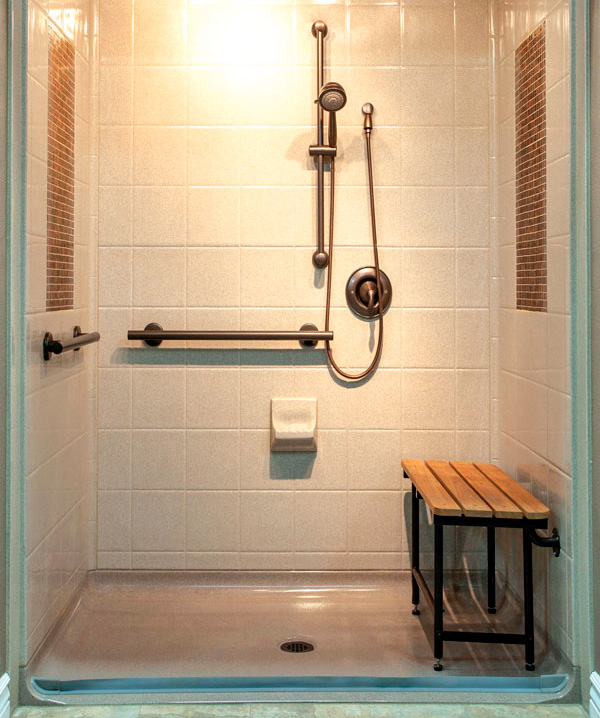 Bestbath copper tile shower