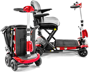 genie automatic folding scooter. Black Bedroom Furniture Sets. Home Design Ideas