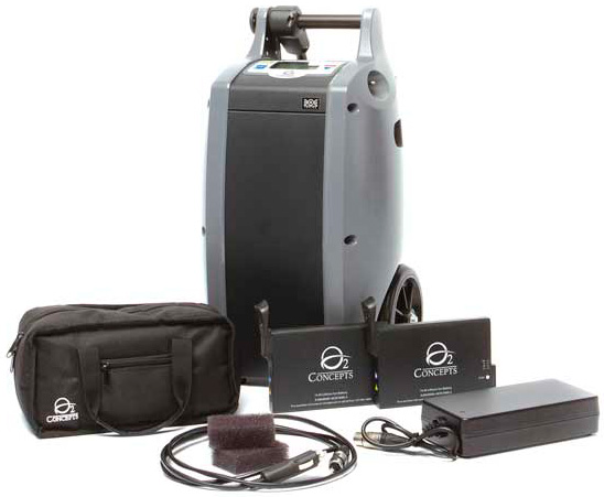 Oxygen concentrator system