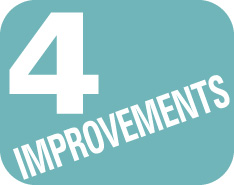 4 Improvements
