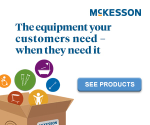 McKesson | The equipment your customers need, when they need it.