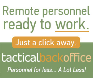 Sponsored by Tactical Back Office