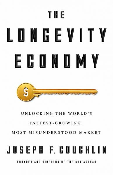The longevity economy book cover