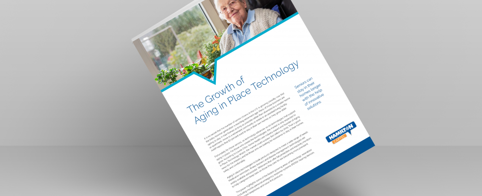 The growth of aging in place