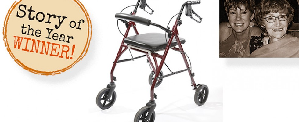 Rollator with Special Features Provides Life-Changing Solution