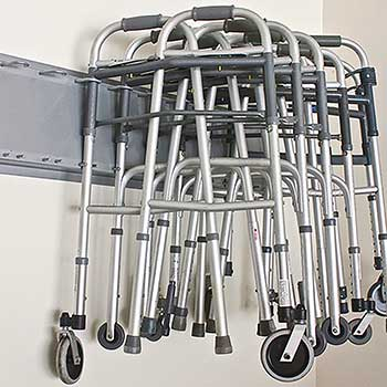 walker storage rack