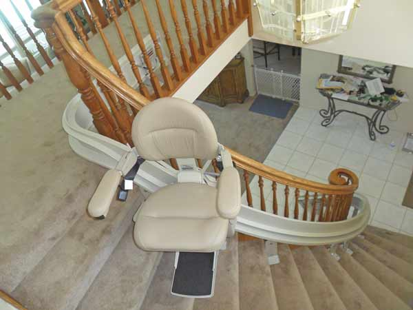 Gamburd Independent Living Solutions is not only the largest dealer of Bruno's curved stairlifts in the western United States, it is one of the company's three largest dealers in the entire world.