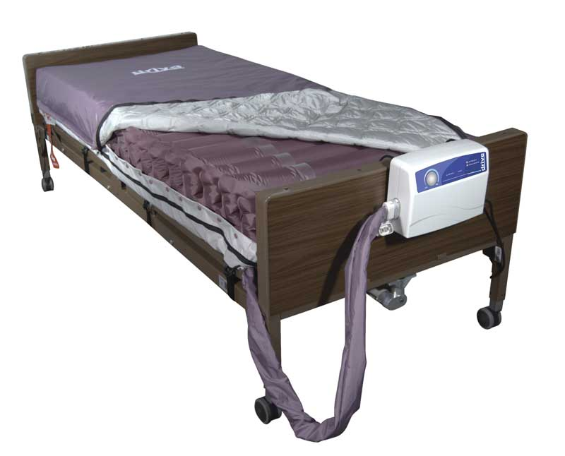 Med-Aire alternating pressure mattress replacement system from Drive Medical.