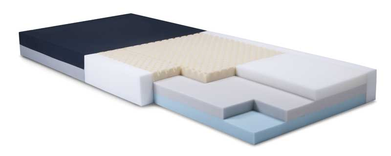 The Simmons S500 Series Clinical Care foam mattress from Graham-Field