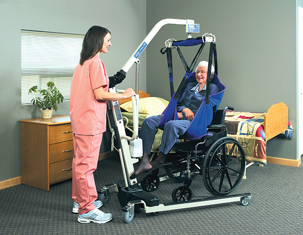 Patient Lifts Offer Lighter Portable And Reliable Options
