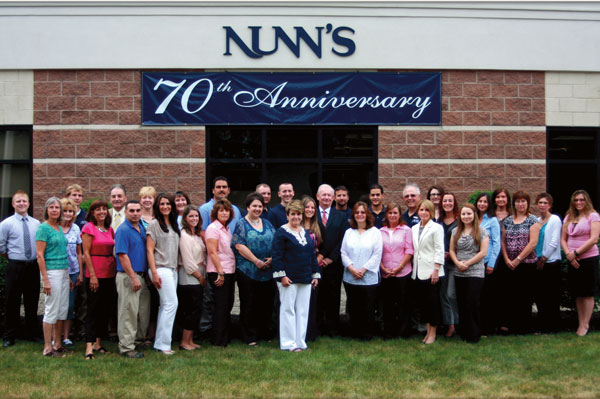 Seven decades in business and 40 knowledgeable employees guarantee quality customer service at Nunn's Home Medical Equipment.