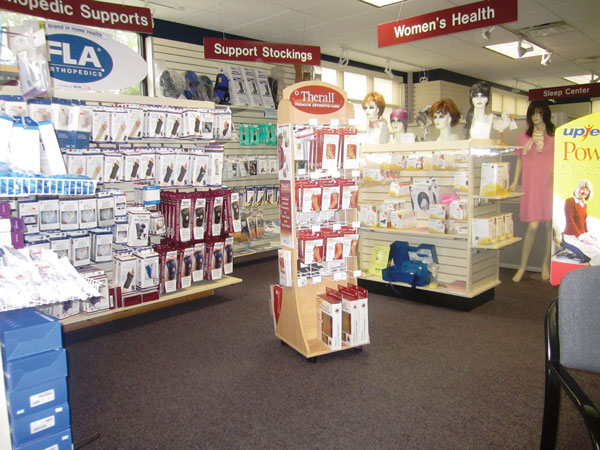 An extensive inventory of equipment, products and supplies assures customers that they'll always be able to find what they're looking for at Nunn's Home Medical Equipment.